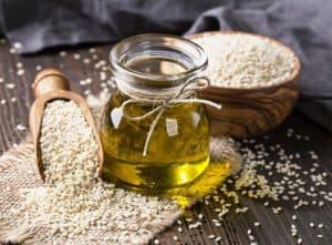 Sesamöl für die Hautpflege